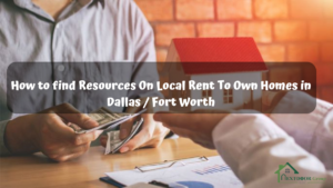 How-to-find-Resources-On-Local-Rent-To-Own-Homes-in-Dallas-Fort-Wort