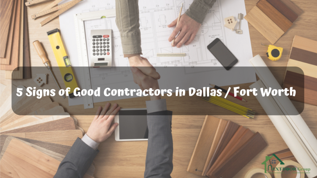 5-Signs-of-Good-Contractors-in-Dallas-Fort-Worth